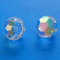 Crystal AB 5000 Swarovski Crystal Round Beads 8mm PK5